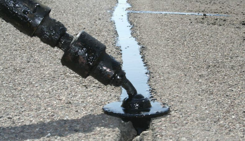 pavement crack sealing in San Antonio