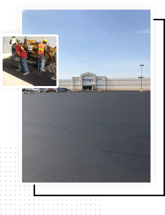 asphalt coating services San Antonio Texas