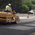 Paving blacktop asphalt in San Antonio Texas